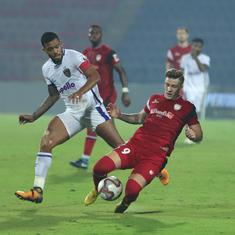 Indian Super League: NorthEast United up to third after edging Chennaiyin 1-0