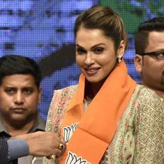 Mumbai: Actor Isha Koppikar joins BJP months ahead of Lok Sabha elections