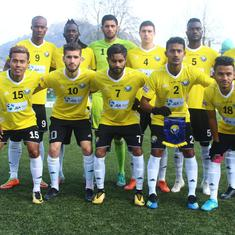 I-League: Real Kashmir beat Gokulam Kerala 1-0 to take top spot in table