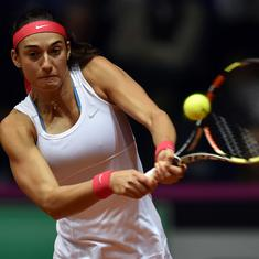 Tennis: France recall Carolina Garcia for Fed Cup tie against Belgium