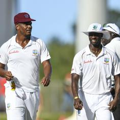 West Indies pacers shine again to bowl England out for 187 in second Test