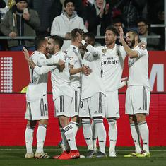 Copa del Rey: Benzema brace takes Real Madrid into semi-final with 3-1 win over Girona
