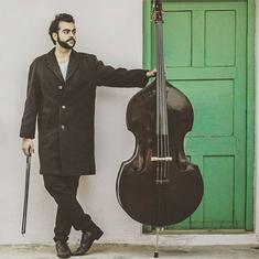 A young Bengali is melding folk music and Rabindra Sangeet with the double bass to create new sounds