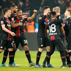 Bundesliga: Bayern Munich crash at Leverkusen as Dortmund extend lead by seven points