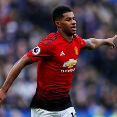 Marcus Rashford has to improve on goal-scoring like Cristiano Ronaldo, says Ole Gunnar Solskjaer