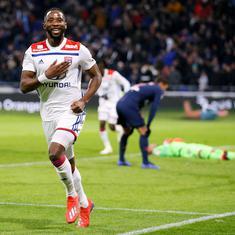 Moussa Dembele stars as Lyon stun PSG's to end their unbeaten Ligue 1 streak this season