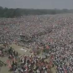Watch: It might seem strange, but a Left rally in Kolkata drew enormous crowds