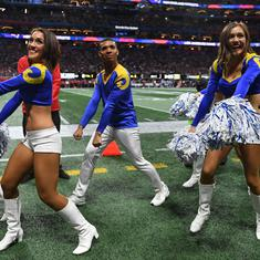 Los Angeles Rams lost the Super Bowl but their first-ever male cheerleaders created history