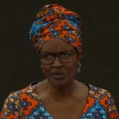 Watch: Oxfam director Winnie Byanyima takes down top executive who claims unemployment is low