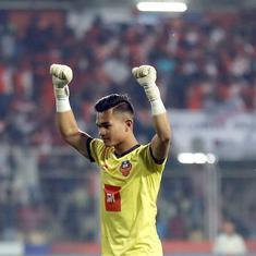 ISL: Goalkeeper Mohammad Nawaz, 19 years old, is the ball-player behind FC's Goa's improved defense
