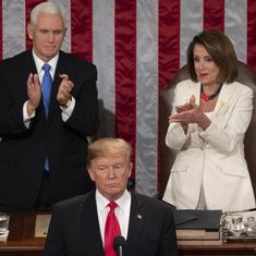 State of the Union: Donald Trump defends immigration policy, calls for more bipartisan cooperation