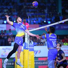 Pro Volleyball League: Kochi Blue Spikers edge Ahmedabad Defenders 3-2