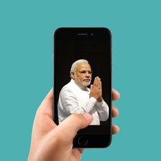 NaMo App promotes fake news factory 'The India Eye' and users can't block it even if they want to