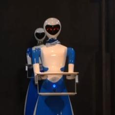 Watch: In this Chennai restaurant chain, the food is served by robots
