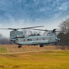 शिनूक हेलीकॉप्टरों का पहला बेड़ा अमेरिका से भारत पहुंचा