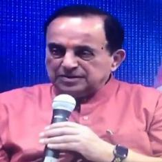 Watch: Subramanian Swamy claims some news channels run their news according to the BJP's wishes