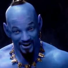 'Too late to reshoot?' Thumbs down for Will Smith's blue 'hip-hop' Genie from 'Aladdin'