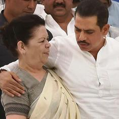 Robert Vadra alleges 'vindictive' government is harassing his mother