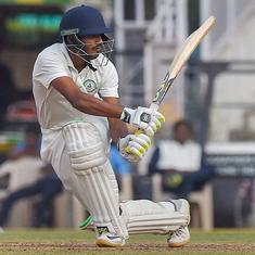 Irani Cup: Akshay Wadkar's half-century keeps Vidarbha in hunt for first-innings lead