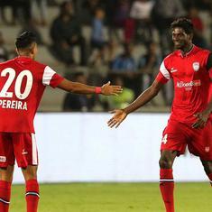 ISL: Borges, Ogbeche's goals help NorthEast inflict Mumbai City's third successive defeat