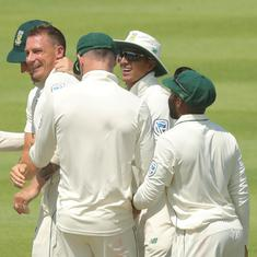 Dale Steyn's four wicket haul hands South Africa first innings lead against Sri Lanka
