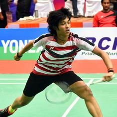 Badminton: Ashmita Chaliha impresses but India knocked out of Asian Team C'ships by Chinese Taipei