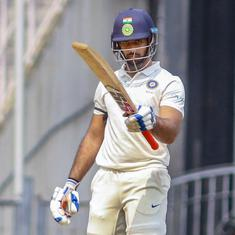 Hanuma Vihari's third successive Irani Cup century puts Rest of India in control against Vidarbha