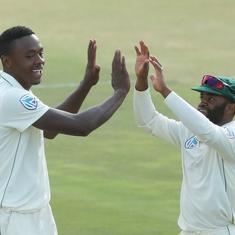 South Africa's late burst gives them the upper hand against Sri Lanka on day three