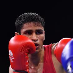 Boxing: Gaurav Solanki, Pinki Jangra enter quarter-finals of Umakhanov International