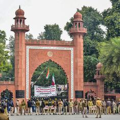 AMU professor and husband booked for sharing 'inappropriate' social media posts on Kashmir