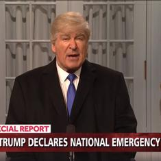 Watch: 'Saturday Night Live' mocks Trump's 'fake' emergency and border wall, infuriating him