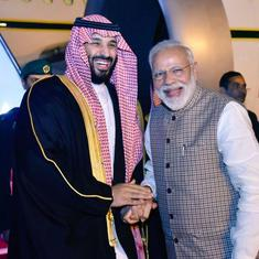 Congress targets Narendra Modi for breaking protocol to welcome Saudi crown prince