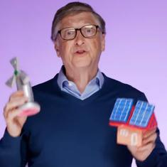 Watch: Bill Gates explains the challenges of climate change using toys. Will more people listen now?