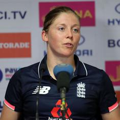 'We want to make history': England captain Heather Knight targets first ODI series win in India