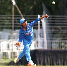 I was bowling sideways, coach WV Raman helped improve my action: Ekta Bisht