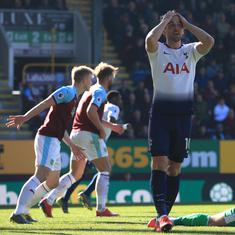 Premier League: Tottenham's title challenge suffers crucial blow after 2-1 loss to Burnley