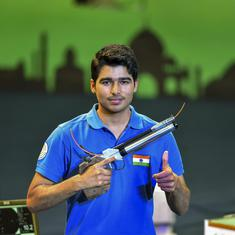 Asian Shooting Championship: Saurabh Chaudhary wins silver, Abhishek Verma finishes fifth