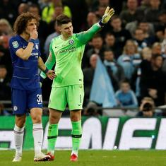 Chelsea's new player-manager: Twitter amazed by 'keeper Kepa's refusal to get subbed against City