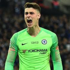 Misunderstanding: Chelsea 'keeper Kepa, manager Sarri look to move past substitution controversy