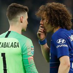 Sarri has respect of players despite Kepa's refusal to be subbed, says Chelsea defender David Luiz
