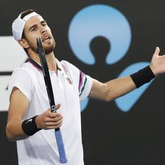 Tennis: Karen Khachanov, Milos Raonic suffer first-round losses at Dubai Championships