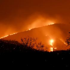 Bandipur fire: Air Force choppers join efforts to douse blaze at tiger reserve