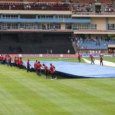 Third ODI between West Indies and England abandoned due to rain, series locked at 1-1