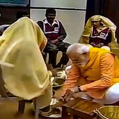 The Daily Fix: By washing the feet of sanitation workers, Narendra Modi merely mocks their plight