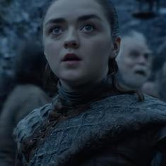 New 'Game of Thrones' footage shows Arya Stark's first dragon sighting