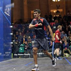 Saurav Ghosal battles past Joel Makin to enter World Squash Championship quarter-finals