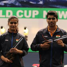 Indian shooting: Saurabh Chaudhary smashes world record as he and Manu Bhaker ace pistol T1 trials