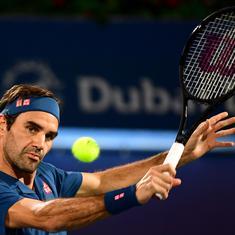 Dubai Championships: Roger Federer edges closer to 100th title, Kei Nishikori bundled out