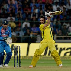 India vs Australia, 2nd T20I: Kohli's knock in vain as Maxwell powers visitors to series win
