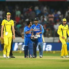 पहला वनडे : भारत ने ऑस्ट्रेलिया को छह विकेट से हराया